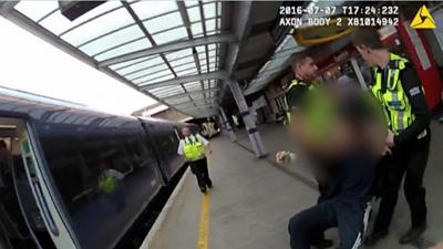 Body worn cameras used to cut attacks on rail staff
