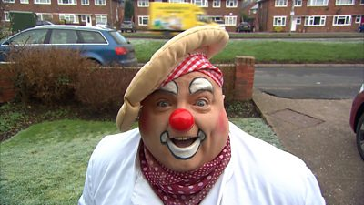 Rob Bowker, known as Bibbledy Bob, says clowning is a great way to live your life.