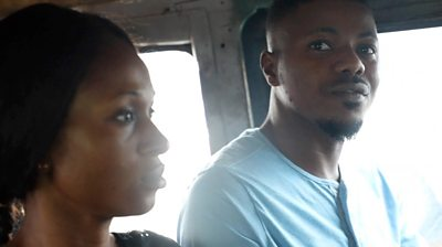 Bus passengers in Lagos