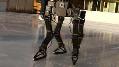 ETH Zirch's ice skating robot