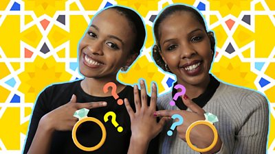 Somali women Ladan Takow and Safa Aden