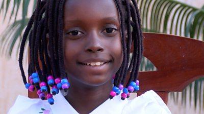 Nine-year-old Tumaini
