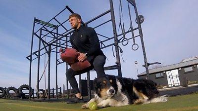 Fitness trainer and farmer Tom Kemp