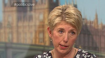 """One of the MPs to have resigned from Labour is criticised for appearing to use the words """"funny tinge"""" when talking about skin colour."""