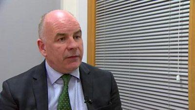 Belfast Trust Chief Executive Martin Dillon