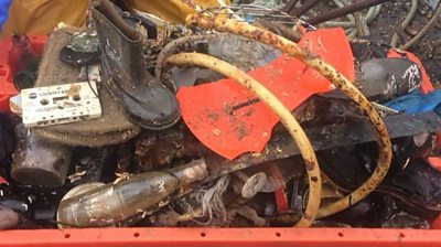 Fisherman's mission to clear up rubbish from sea floor