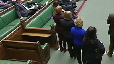 Former Tory MPs in House of Commons