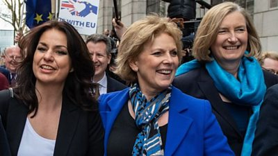 Anna Soubry, Sarah Wollaston and Heidi Allen