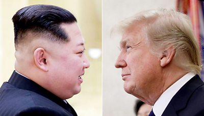 Donald Trump and Kim Jong-un: From enemies to frenemies