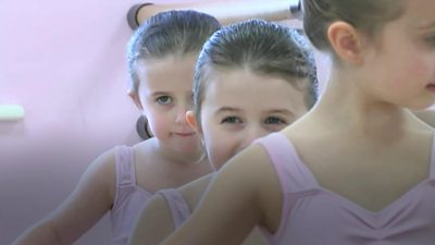 Twins at Thanet Dance School