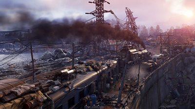A scene from Metro Exodus