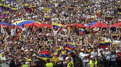 Concert in Colombia for Venezuela