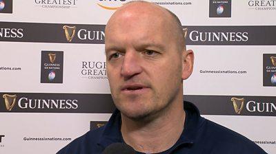 Scotland boss Gregor Townsend