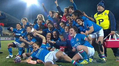 Franco try seals Italy's first ever Six Nations victory over Ireland