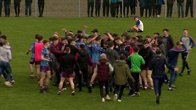 St Michael's make the MacRory Cup final