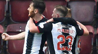 Hearts 1-1 St Mirren