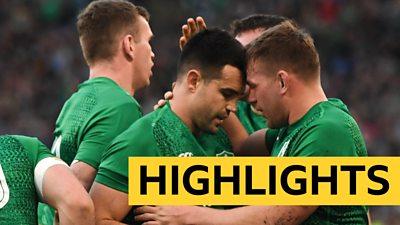 Conor Murray celebrates