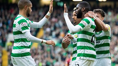 Celtic 4-1 Motherwell