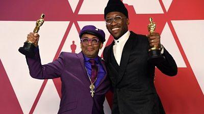 Spike Lee and Mahershala Ali