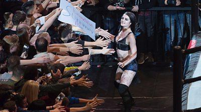 Former WWE wrestler Paige