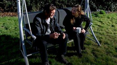 Darren Handley and Irina Zureiqi