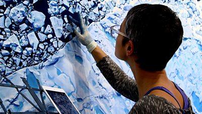 Artist Zaria Forman