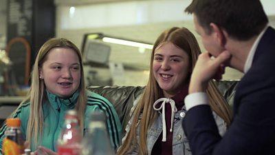 Naomi Burns and Rebecca Coggles