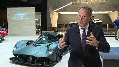 Andy Palmer, Aston Martin boss