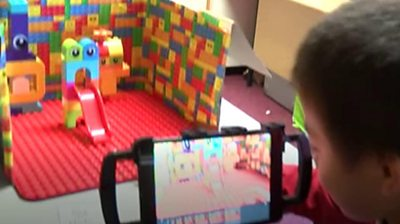 The children at The Hollies School in Cardiff have autism