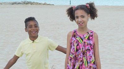 Brother and sister Elouan and Amandine tell Newsround what it's like to be mixed race and what it means to them.