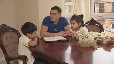 A Roma family from Scotland