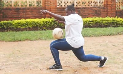 Kick-ups star Hadhara Charles Mjeja