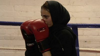 The Bradford boxer aiming to break stereotypes.
