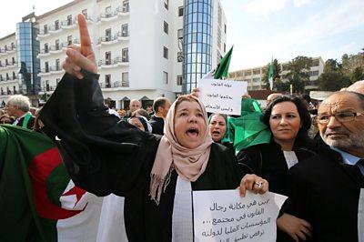 Anti-government protests in Algeria