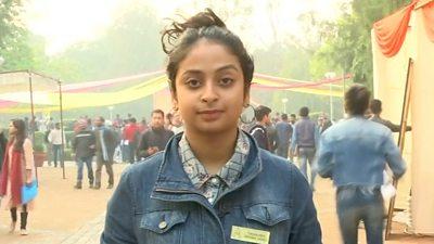Still of India voter