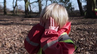A nursery in Bradford take their pupils from the Canterbury estate to a nearby woodlands.
