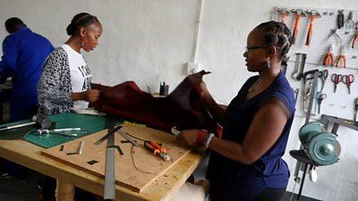 Thembi Mazibuko-Kahimbaara and Mpumi Mazibuko