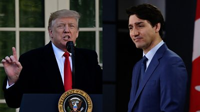 Canadian Prime Minister Justin Trudeau is facing a political crisis. But would it move the needle in the US?