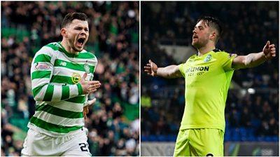 Scotland strikers Oliver Burke and Marc McNulty have enjoyed impressive starts to 2019
