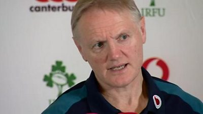 Joe Schmidt's Ireland side will be aiming to prevent a Wales Grand Slam in Cardiff on Saturday