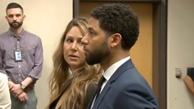 Jussie Smollett in court