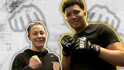 Could you last three rounds with a UFC fighter?
