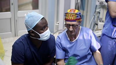 Medics in Ghana
