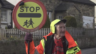 Betty Timbrell has been a lollipop lady for 26 years.