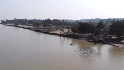 Ghoramora, the sinking island