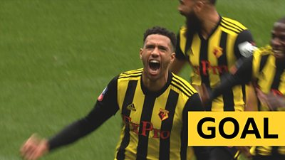 Capoue opens the scoring for Watford