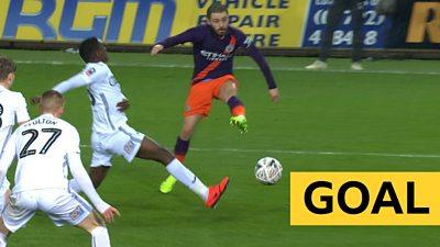 'Brilliant' - Bernado Silva pulls back goal for City