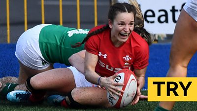 Wales' Jasmine Joyce