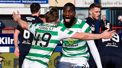 Michael Stewart and Steven Thompson debate Celtic's title chances after 1-0 win over Dundee