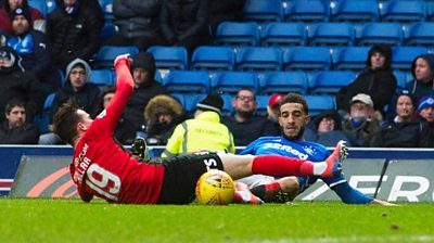 Liam Millar and Connor Goldson